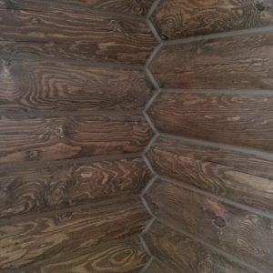 Конопатка и покраска дома