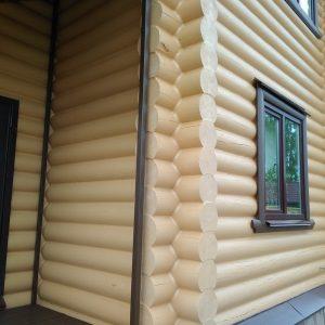 Шлифовка и покраска домов