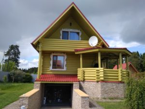 Покраска домов